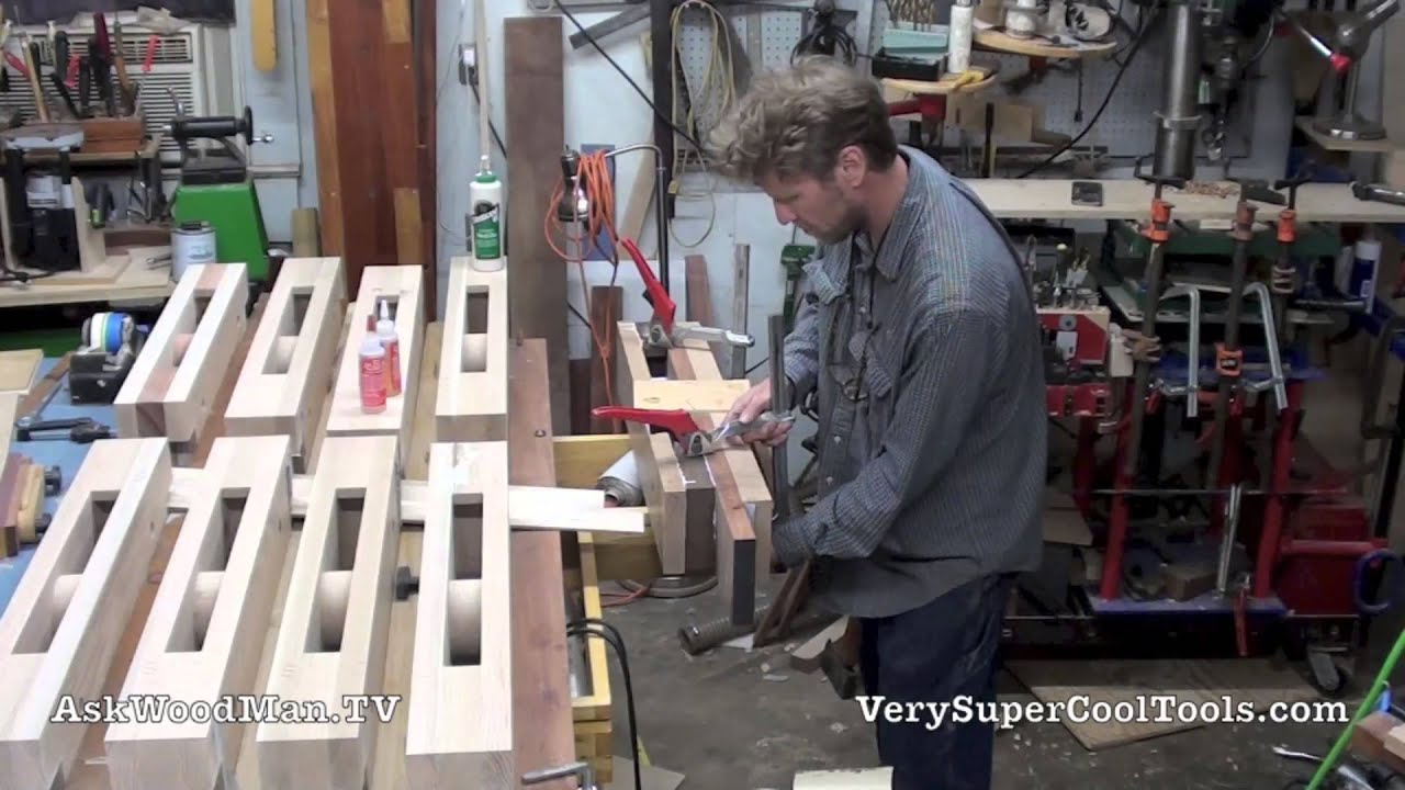 Make A Portable Moxon Vise 06 Full Glue Up