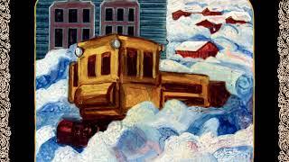 Картина пятая из Камчатского цикла. «Поселок после пурги. Камчатка»