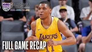 LAKERS vs WARRIORS | Zach Norvell Jr. Leads LA to First Summer W! | California Classic