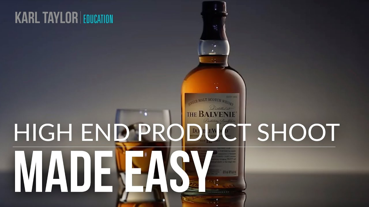Karl Taylor\'s Hi-End Product Shoot - Made Easy! - YouTube