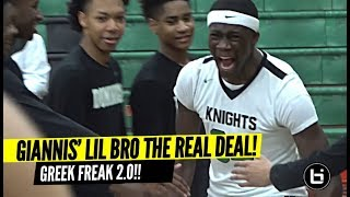Giannis Lil Bro's Game Is TOO SMOOTH!! Is Alex Antetokounmpo NBA Bound!?
