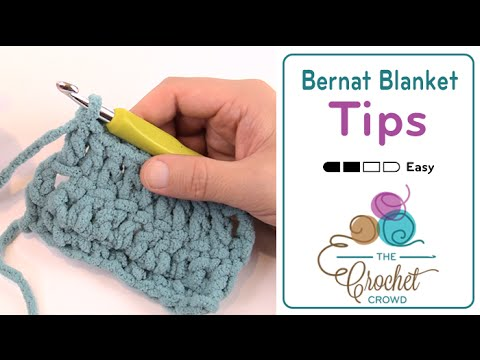 How To Change Colors Amp Yarn Strands With Bernat Blanket