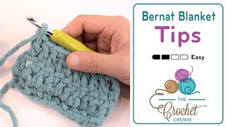 How To Change Colors & Yarn Strands with Bernat Blanket