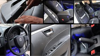 Modified My Car Interior | Maruti Swift New Interior | Best Interior For Your Car | Nappa Leather