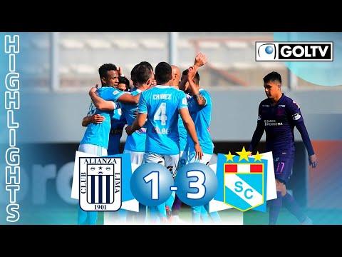 Alianza Lima 1 - 3 Sporting Cristal   GOLES   Liga 1 Perú