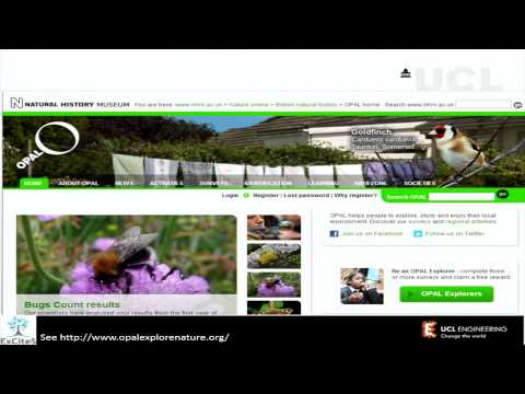 Science for everyone by everyone - the re-emergence of citizen science (22 Jan 2013)