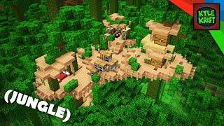 Minecraft | EASY JUNGLE Survival Base!