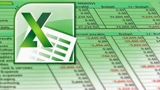 """Вводный курс """"Бюджетирование в Excel"""". Урок 2"""