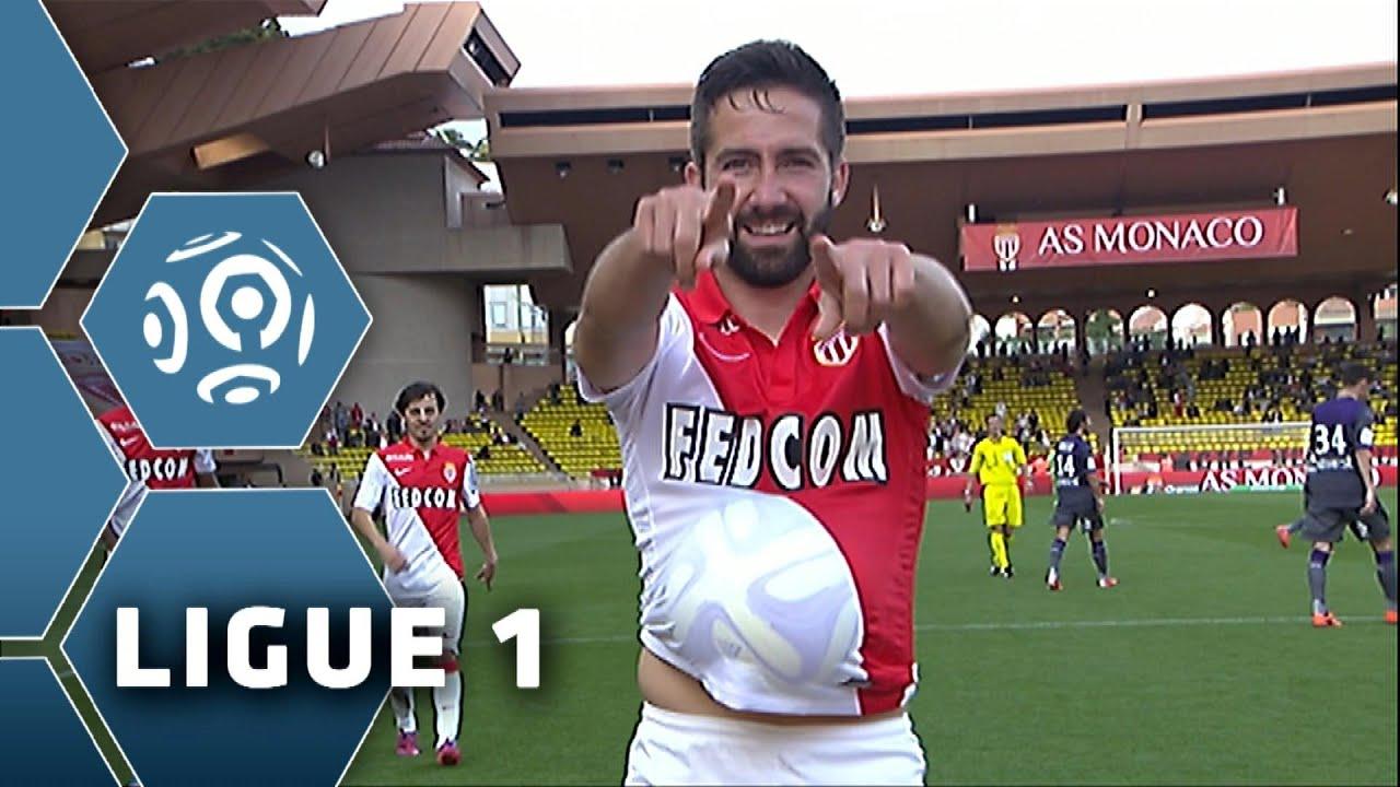 AS Monaco Toulouse FC 4 1 Résumé MON TFC