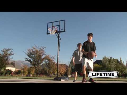 Lifetime 48'' Speed Shift Basketball System | Model 90000 | Features & Benefits Video