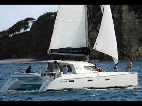 Charter catamaran Nautitech 40 in Greece.wmv