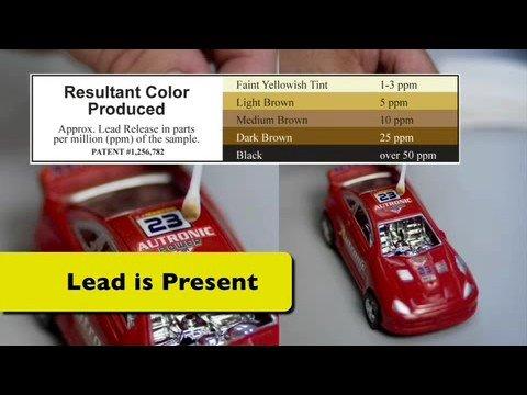 rapid test procedure the lead inspector test kit