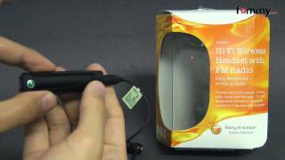 Sony Ericsson® (OEM) Bluetooth Headset with FM radio Review in HD