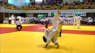 2017 JAPAN Veterans International JUDO championship(M-3 73kg)