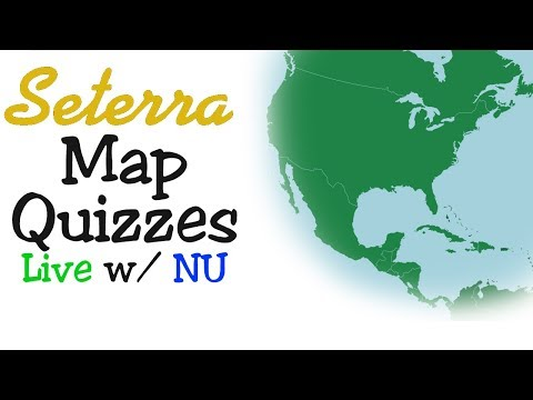 Seterra Geography Games & Map Quizzes | Live W/ NU