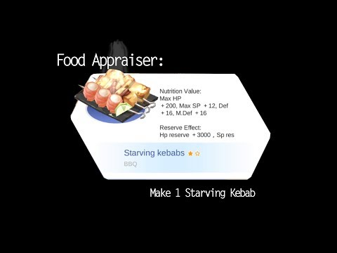 ragnarok-eternal-love---food-appraiser:-make-1-starving-kebabs-[english]