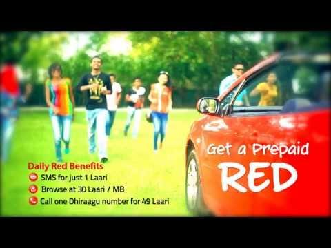 Dhiraagu Prepaid RED TVC HD
