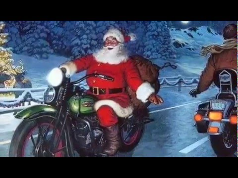 Merry Christmas to my biker friends! - YouTube