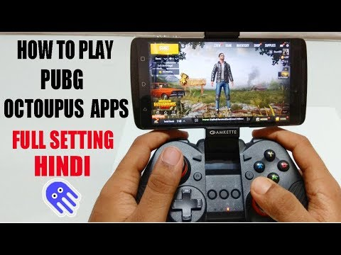 (HINDI) Amkette Evo Gamepad Pro 2 Unboxing & How to Use Octopus App On PUBG Mobile Game