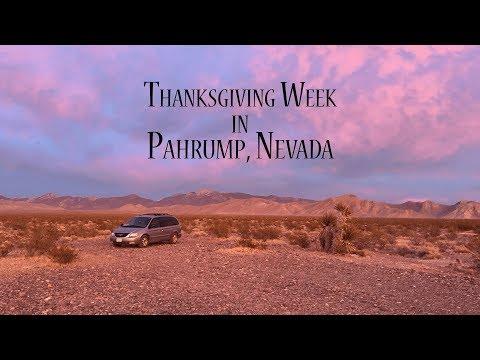 Thanksgiving Week in Pahrump, Nevada