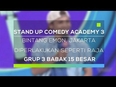 Stand Up Comedy Academy 3 : Bintang Emon, Jakarta - Diperlakukan Seperti Raja