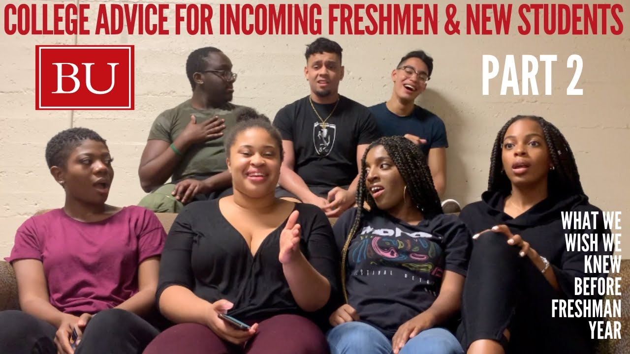 COLLEGE ADVICE VIDEO Pt. 2: What We Wish We Knew Before Freshman Year at Boston University