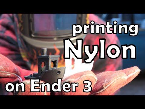 Printing (carbon Fiber) Nylon On An Ender 3