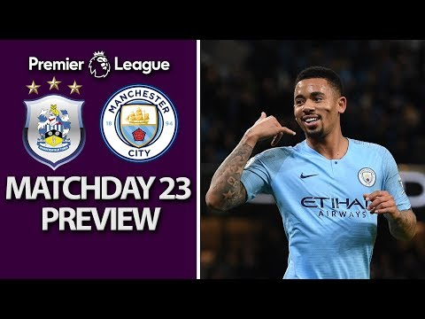Huddersfield v. Man City | PREMIER LEAGUE MATCH PREVIEW | 1/20/19 | NBC Sports