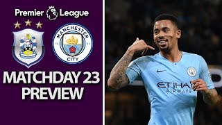 Huddersfield v. Man City | PREMIER LEAGUE MATCH PREVIEW | 1/20/19 | NBC Sports