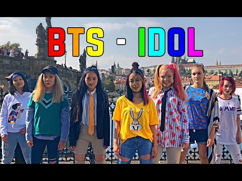 [K-POP IN PUBLIC - Prague] BTS (방탄소년단) - IDOL (아이돌) | Monster Crew dance cover