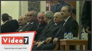 أحمد الزند والنائب العام يتلقيان العزاء فى ضحايا حادث العريش الإرهابى