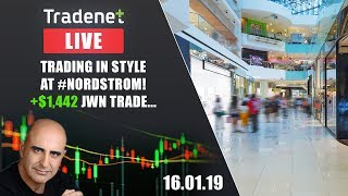 Live Tradenet Day Trading Room - 01/16/2019 -  New Year Sale! 🎁