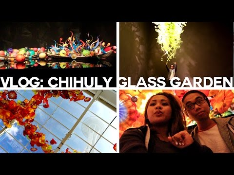 RELAXING AT THE CHIHULY GLASS GARDEN