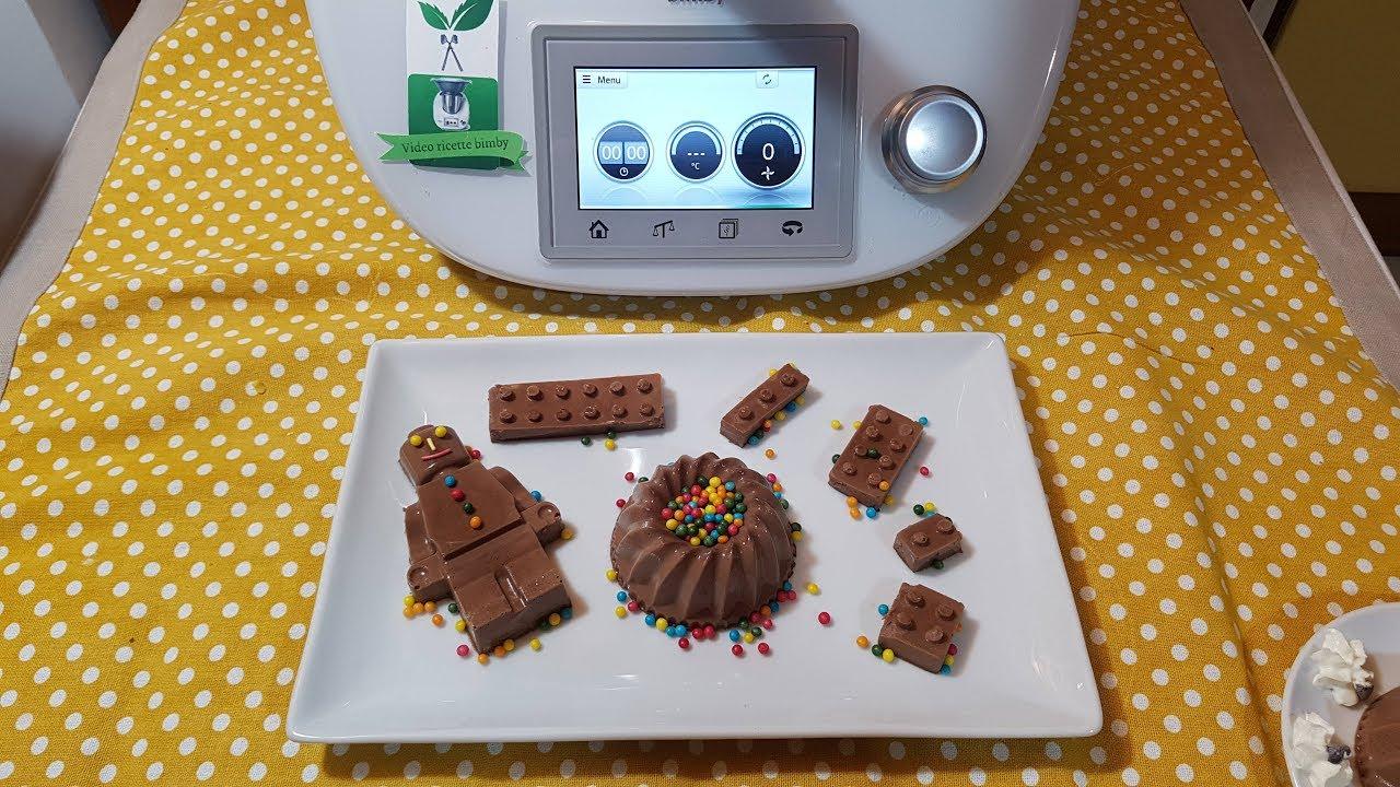 Panna Cotta Al Cioccolato Bimby Per Tm5 E Tm31 Youtube