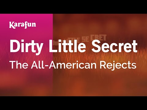 Karaoke Dirty Little Secret - The All-American Rejects *