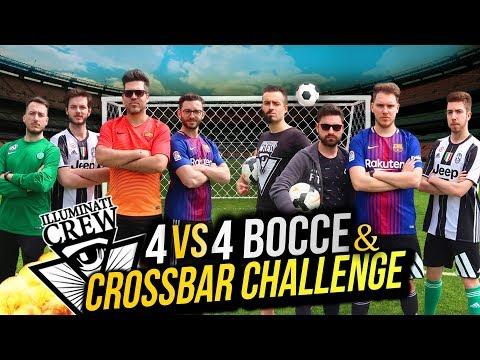 4vs4 BOCCE CHALLENGE & CROSSBAR EPICA FINALE w/ #IlluminatiCrew