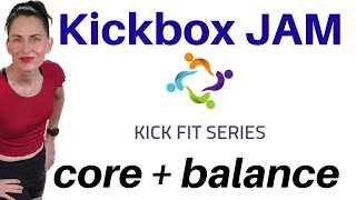 30 MIN WORKOUT | KICKBOXING JAM + STABILITY BALL - BALANCE  WORKOUT | WEIGHT LOSS WORKOUT | AFT