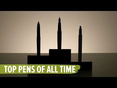 Top Pens Of All Time