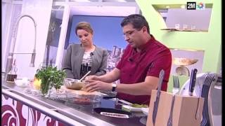 صباحيات - Sabahiyat 2M avec Chef ELHADI  Lasagne aux lentilles