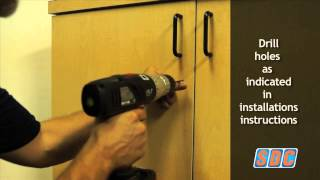 295 Installation On Wood Cabinet-with Rotating