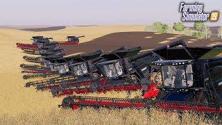 👑 Największe Kombajny w Akcji ❗️ Wakacyjni Rolnicy ⭐️ Farming Simulator 19 🚜