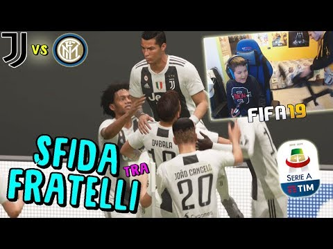 JUVENTUS vs INTER - IL DERBY D'ITALIA!! *finito male* - Fifa 19
