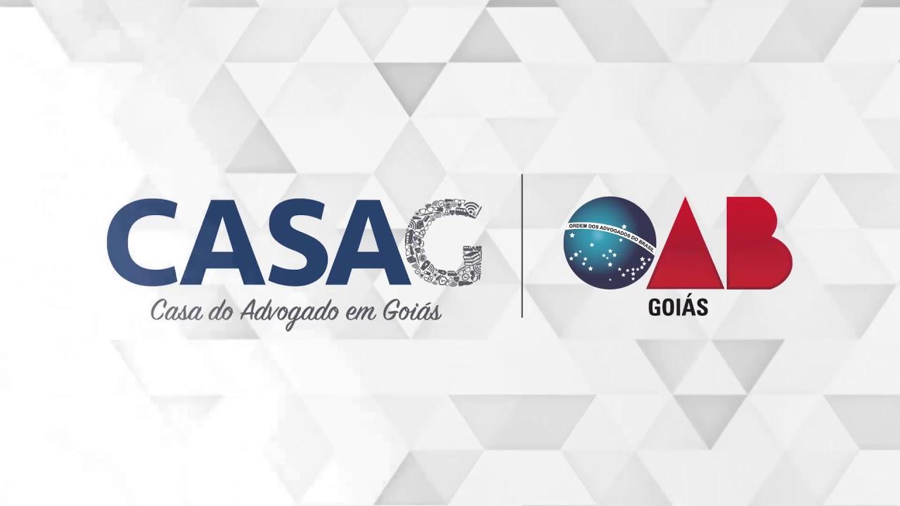 Novidades para 2018 CASAG OAB-GO - YouTube 5ddf9faeff