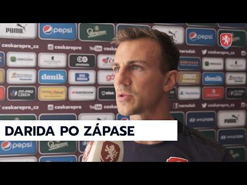 ČR A   Vladimír Darida po přípravném utkání s Kyprem