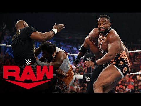 New Day and former Hurt Business members join Big E vs. Lashley WWE Title melee: Raw, Sept. 27, 2021