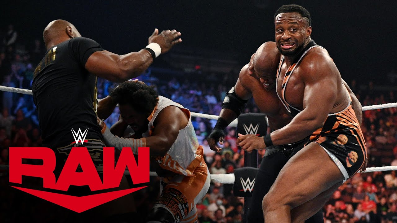 Download New Day and former Hurt Business members join Big E vs. Lashley WWE Title melee: Raw, Sept. 27, 2021