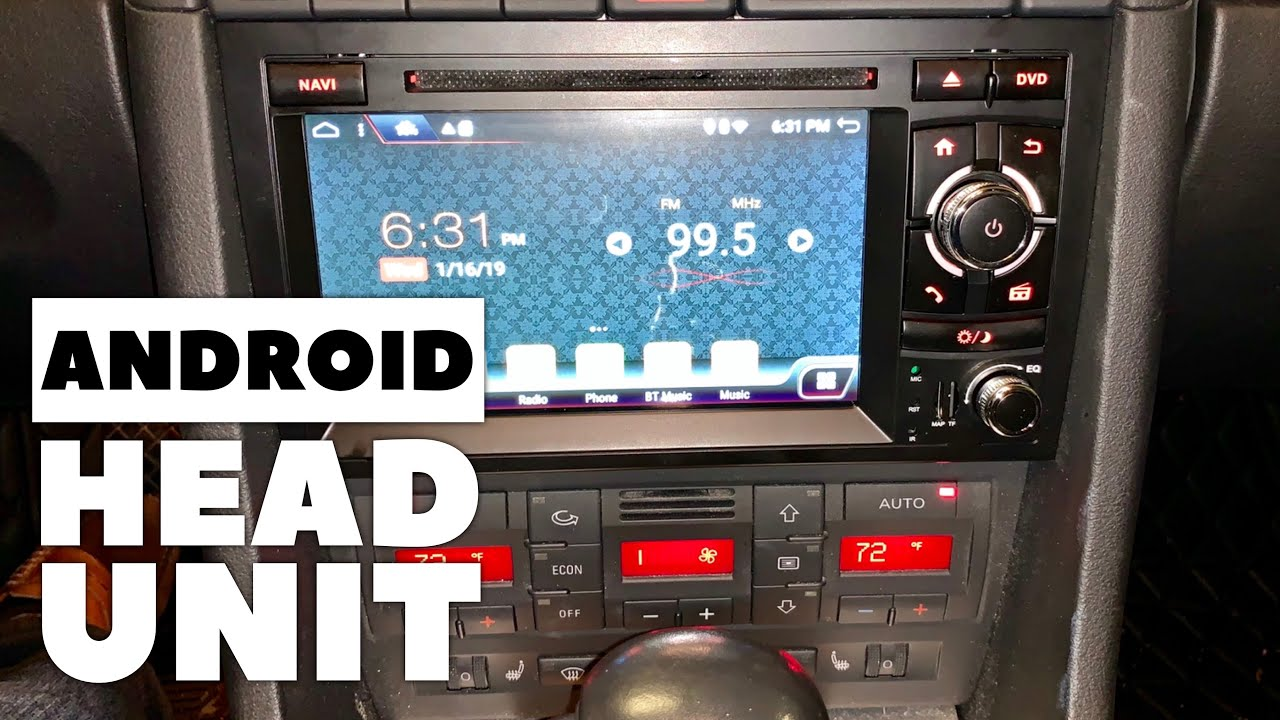 audi rns e wiring diagram android car stereo upgrade for audi a4 b7 installation and review  car stereo upgrade for audi a4 b7