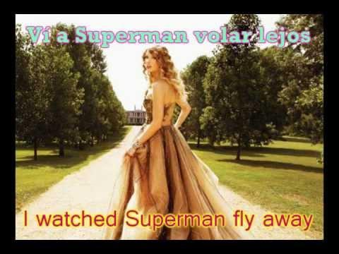 Taylor Swift-Superman-Subtitulada EspañolInglés