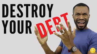 10 DEBT FREE TIPS: How To Get Out Of Debt SUPER FAST! (UK)