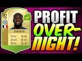 MAKE EASY PROFIT OVERNIGHT! - HOW TO TRADE WITH 10K! (FIFA 18 Trading)